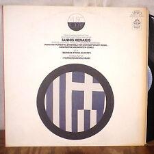 Pierre Penassou Cello Iannis Xenakis Konstantin Simonovitch LP Angel stereo EX