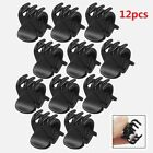 12 Pcs Set Black Plastic Mini Hairpin 6 Claws Ladies Women's Hair Clip Clamp Hot