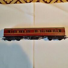 Mainline Railways BR 57 foot pannelled coach in maroon (one of several)