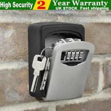 4 DIGIT OUTDOOR GARDEN SECURITY WALL MOUNTED KEY SAFE BOX SECURE LOCK STORAGE UK