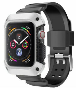 All-in-One Protective Case Cover with Band for Apple Watch (Series 4, 40mm)