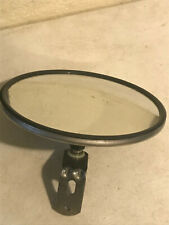 "8"" Round OUTDOOR Traffic Safety Security Convex Mirror DRAIN HOLES AND LBracket"