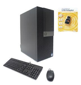 Dell 7050 MT 4-Core i7-6700 3.40/4.0GHz 16GB Ram 1TB SSD 2TB AMD Radeon 4GB WIFI