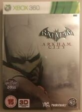 Batman: Arkham City, Steelbook Collector's Edition, Microsoft Xbox 360, Complete