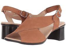 MUNRO LAINE SANDALINO NUBUCK LEATHER 10.5 N $200 WOMENS DRESS SANDALS M455126