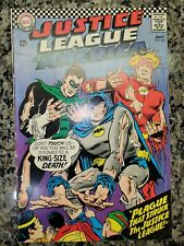 New listing Justice League Of America #44, Fn (6.0), 1966, Dc Comics, Silver Age