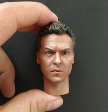 "1/6 Scale Batman Michael Keaton Male Head Sculpt For 12"" Action Figure Body Toy"