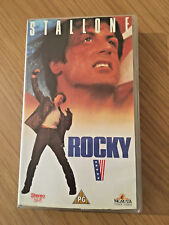 Rocky 5 VHS Video Tape Cassette (1992) Sylvester Stallone, Talia Shire