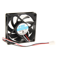 Portable DC 12V 3Pin 70mm 7cm 70x70x15mm Brushless Computer Cooling Heatsink Fan
