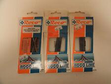 Roco Code 83 NS:1x #42498 30ºcrossing, 2x #40296 switch machines. NIB.