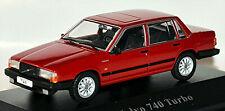 Volvo 740 Turbo Facelift Limousine 1989-92 Red 1:43 Atlas