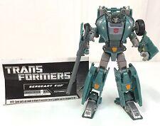 Transformers Generations Universe Classics Sergeant KUP Deluxe Figure Complete