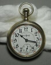 1400158 Keystone Swing Out Of 8266953 Old Pocket Watch Illinois Bunn Special 24J