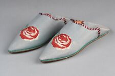 *Very Rare* Vintage Women's Yves Delorme Smoking Slippers Mules *Never Worn*