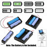 3 Slots Plastic DIY Storage Box Holder Case Clip for 18650 Rechargeable Battery