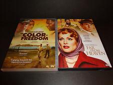 THE COLOR OF FREEDOM & FAR FROM HEAVEN-2 DVDs-Dennis Haysbert, Julianne Moore