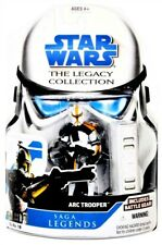 2008 Star Wars Legacy Collection SL19 Saga Legends ARC Trooper (Yellow) Figure!