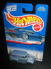 Hot Wheels 1999 #927 First Editions #22 of 26 1956 '56 Ford Truck Blue Grey 5SPs
