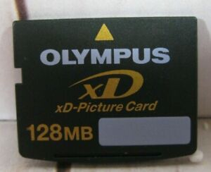 Olympus 128MB xD-Picture Card XD Memory Card Fujifilm for XD Cameras