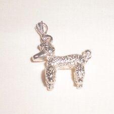 Barbie's Dog Charm Solid Silver, Nacklece New