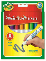 Crayola 8 My First Crayola Washable Markers - FREE & FAST DELIVERY.