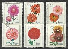 EAST GERMANY 1975 FLOWERS SET MINT