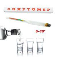 Spirtometer 0-96% Alkoholmesser Alkoholmeter Refraktometer СПИРТОМЕТР спиртомер