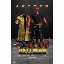 1/6 Hellman Hellboy Male Custom Figure 4 Head Sculpts Special Edition Artoys