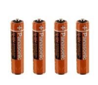 Panasonic Ni-MH 1.2v AAA HHR-55AAABU-550mAh Cordless Rechargeable Batteries