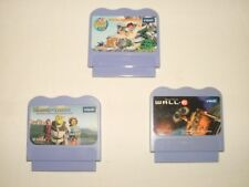 VTech VSmile Lot of 3 Learning Games Cartridges Wall-E, Shrek the Third, Diego
