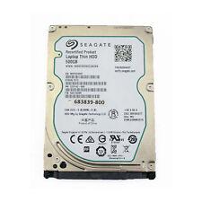 Disque Dur Seagate Fin 500GB 2.5' 5400RPM HDD ST500LT012 Occasion