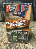 SEALED 🔥 2017 Full Court Press NBA Basketball Cards Repack Box Prizm Giannis?🔥