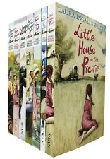 Little House on The Prairie Series 7 Books Collection by Laura Ingalls Wilder L
