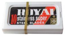 100 Personna Royal double edge razor blades