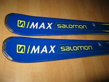 SKIS SALOMON MAX X7 148 cm ! 2018 ROCKER !