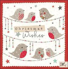 Kirsty Allsopp Robins Christmas Greeting Card Individual Special Xmas Cards