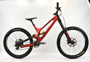 Specialized Large S-Works Demo 8 DH MTB Satin/Gloss Red/Carbon