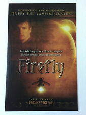 2002 Fox tv series premiere ad page ~ FIREFLY ~ Nathan Fillion