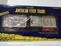 AMERICAN FLYER S GAUGE MINT  6-48380 AMERICAN FLYER CIRCUS ANIMAL TRANSPORT