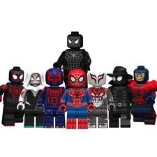 NEW Spiderman - Into The Spiderverse Lego Moc Minifigure Gift For Kids