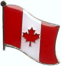 LOT OF 12 Canadian Flag Lapel Pins - Canada Flag Pin