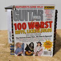 100 Worst Riffs Guitar World Magazine KISS Poison SRV Cream September 2004 RARE