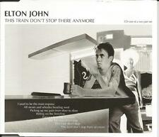 ELTON JOHN the train Doesn't Stop there LIVE & UNRELEASED TRX CD single SEALED