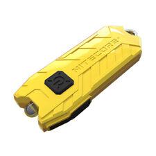 NITECORE TUBE V2.0 55 Lumen USB Rechargeable Keychain Flashlight (Yellow)