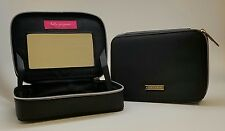 bareMinerals Escentuals Black Zip Cosmetics Travel Case Bag with Mirror