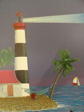 Christophe Salembier Lighthouse Original Lithograph Art