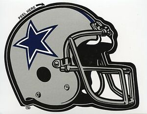 DALLAS COWBOYS  FOOTBALL AUTHENTIC TEAM ISSUED STICKER / DECAL 1990'S MINT A-1