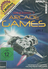 CD-ROM + Windows 7 + arcade games + shooter + PINGPONG + action + RACER + Jump