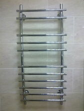 Towel Rail Chrome 1200x550 Curved