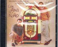 ISMAEL MIRANDA Y ANDY MONTANEZ - CON ALMA DE NIÑO - CD